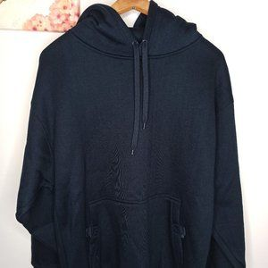Cargo Sweatshirt Sweater Hoodie New Navy Blue L